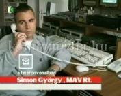 Az új MÁV menetrendről - telefonos interjú (Simon György)