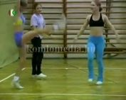 A komlói aerobic...