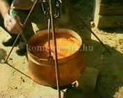 Babgulyás-főző verseny Sikondán