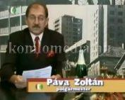 A polgármester újévi köszöntője (Páva Zoltán)
