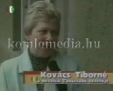 A Nevelési Tanácsadó épületének avatása (Kovács Tiborné)