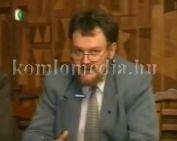 Testület ülés után (Páva Zoltán, Kispál László, Szabó János, Gelb Miklós, Rendeki Ágoston,