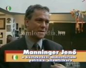 A kormány és a FIDESZ jövőbeli tervei Komlón 2002 (Hoffmann Mátyásné, Manninger Jenő)