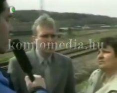 A FIDESZ elnöke Komlón (Pokorni Zoltán, Hoffmann Mátyásné)