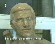 Szobraink - Bányász (ismeretlen alkotó) - a volt SZTK épületében
