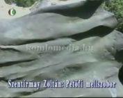 Köztéri szobraink - Szentírmai Zoltán - Petőfi Sándor mellszobor