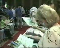 Mecseki Barangolások díjkiosztó (Páva Zoltán, Seregné Deák Róza)