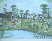 Cigány festők kiállítása a Dankó Pista Közösségi Házban