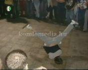 Break tánc versenyt rendeztek a Hársfa Discoban