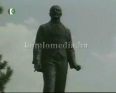 Köztéri szobraink Marton László - Lenin