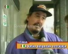 Önöket kérdeztük a Volán sztrájkjáról