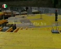 Sikondai új fürdő építése (Hoffmann György)