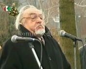 Székely kapu avató és átadó ünnepsége (Horváth Gyula, Dr. Tamás Attila, Páva Zoltán)
