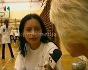 Gyakorolnak az aerobikos lányok (Andok Kata)