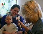 2004-ben Komló első babája