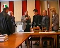 A magyar televízió vezető személyisége városunkba látogatott