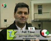 Szociális bérlakások átadása (Páll Tibor)