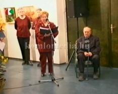 Kovács Imre festőművész kiállítása a Közösségek Házában