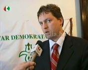 Városunkban a Magyar Demokrata Fórum elnökségi tagjai kampány körútjuk során