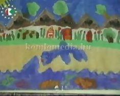 Az önkormányzat környezetvédelmi bizottsága által meghirdetett pályázat rajzai a városházá