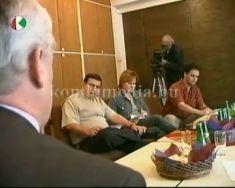 A FIDESZ Munkás és Alkalmazott Baranya Megyei Tagozata (Peszt Konrád, Túri Józsefné, Szamt