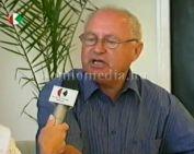 A Fűtőerőmű előző év eredményeiről beszél a cég vezetője (Vakaró József)