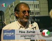 Kihívás napján a polgármester (Páva Zolán)