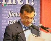 Orbán Viktor Komlón - az Európa Parlament-i választások kapcsán
