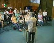Több mint 25 éves Komlói Pedagógus Kórus próbáján jártunk (Dr. Szabó Szabolcs )