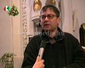 Mátyás Imre plébános úrral beszélgettünk. (Mátyás Imre)