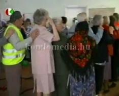 Farsang az idősek otthonában (Jusztingerné Hír Szilvia)
