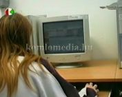 Számítógép használat a Közösségek Házában( Kárpáti Árpád, Korbuly István)