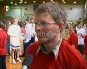 2005 perces kosárgála a 20 éves sportcsarnokba.( Iván Attila, Páva Zoltán)
