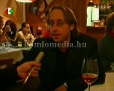 Borkóstoló az Árnyas Étteremben (Kovács Antal)