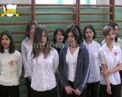 Osztályéneklési verseny a gimnáziumban(Pomázi Attila)