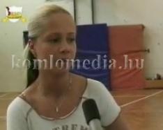 Aerobik diákolimpia a sportközpontban, edzésen is jártunk (Réfi Eszter)