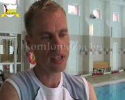 Úszás oktatás a sportközpontban (Kálovics Ferenc, Diákok)