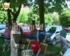 Térzene a zeneiskola tanárai előadásában, EFAMI Nap (Altorjai József)