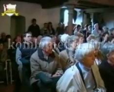 A Mánfai Nyári Templomi Koncertek fellépője a Komlói Munkáskórus (Kópicz József)