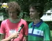 Az új sportág Komlón-footbag