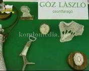 Csontokból dísztárgyak - kiállítás (Góz László)