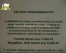 10 éves a Súgólyuk Színház (Harnóczy Csabáné)