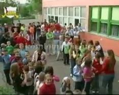 Európai autómentes nap a Szilvási Általános Iskolában (Jencsik János, Seregné Deák Róza, P