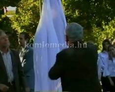 Az aradi vértanúkra emlékezünk, Szabó László kiállítása (Dr. Tamás Attila, Szabó László)