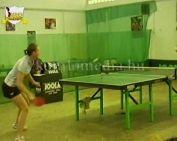Női asztaltenisz verseny (Pintér Zoltán, Rajnai József)