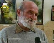 Takács Péter festő olajfestmény kiállítása a színházban