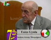 Eszes Gyula a szebényi kántor