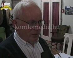 Adomány a szociális ellátó centrumnak (Rolf Meissner, Varga István)