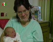 Az év első komlói babája (Berza-Nagy Melinda)