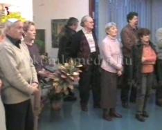 Kert című kiállítás a KH-ban (Horváth Lászlóné, Vér József)
